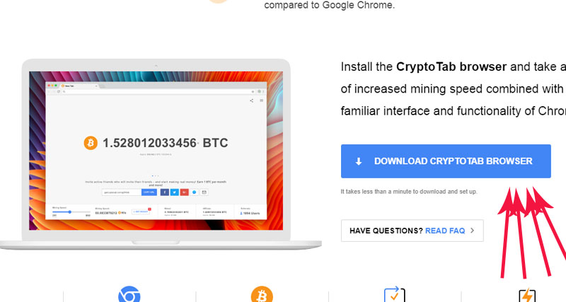 crypto tab browser لوگو